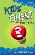 Kids Quest Study Bible: New International Readers Version, Real Questions, Real Answers (Hardcover)