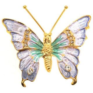 Light Lavender Butterfly Pin Brooch