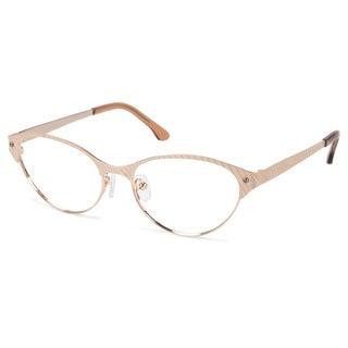Cynthia Rowley Eyewear CR5004 No. 12 Japanese Gold Cat-Eye Metal Eyeglasses