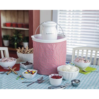 Hamilton Beach Easy-To-Store Ice Cream Maker