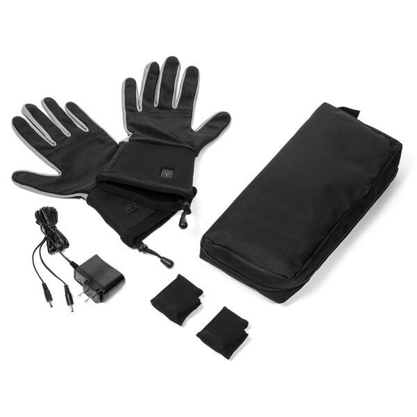 Verseo Men's ThermoGloves Rechargeable Heated Gloves LG/XL