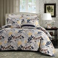 Barcelona Printed Cotton Oversize 5-piece Duvet Cover Set