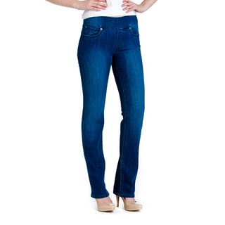 Bluberry Women's Medium Blue Straight Leg Denim