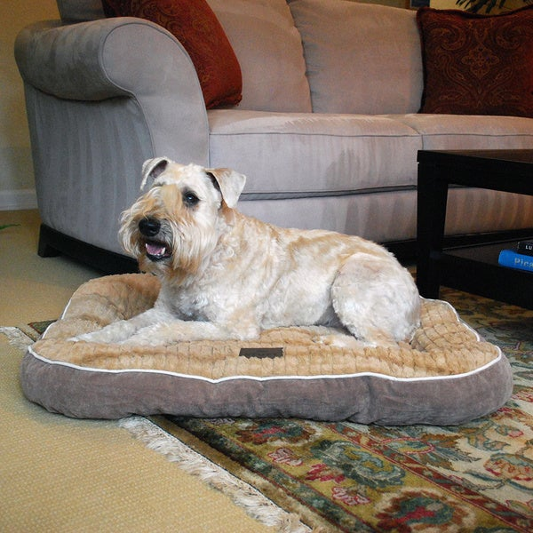 Stuft Luxe Mat Orthopedic Memory Foam Dog Bed