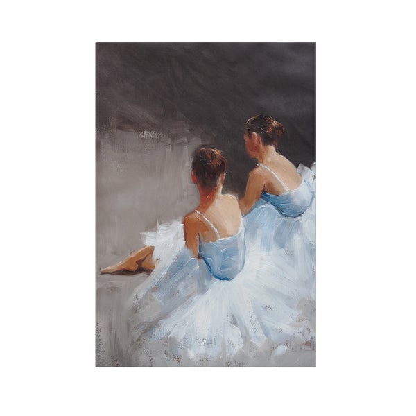 Madison Park Dance with Me Hand Embellished Canvas