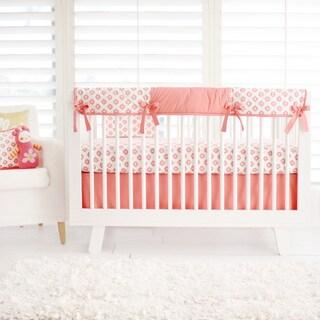New Arrivals Aztec Coral 4-piece Bedding Set