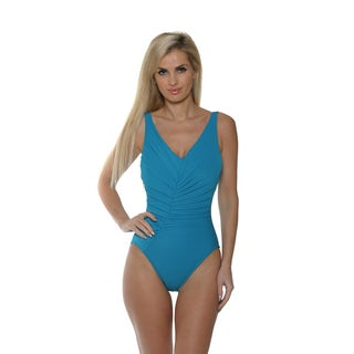 Magicsuit by Miraclesuit Women's Solid Charlize One-Piece