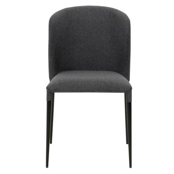 dason charcoal grey dining chair set of 4 18437546