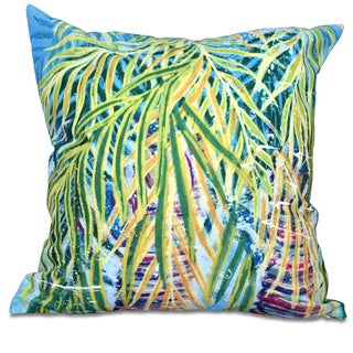 Malibu Floral Print 18-inch Throw Pillow