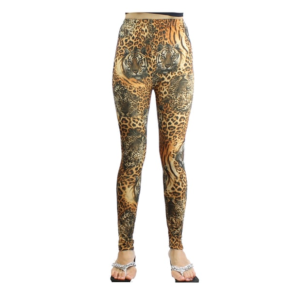 Le Nom Tiger Print Leggings
