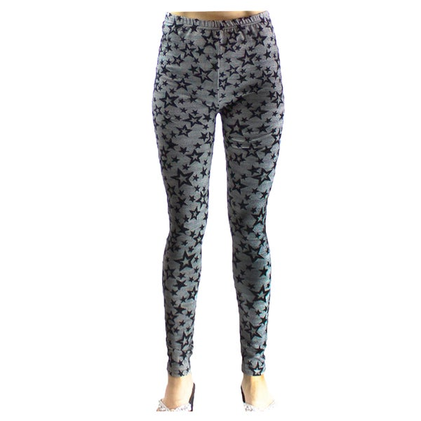 Le Nom Netting Print Leggings (One Size Fits Most)