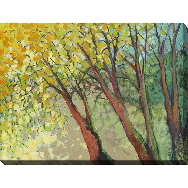 Jennifer Lommers 'An Afternoon At The Park' Giclee Print Canvas Wall Art