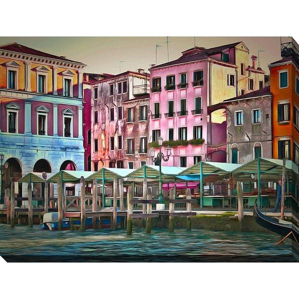 Yuri Malkov 'Venice Architecture III' Giclee Print Canvas Wall Art