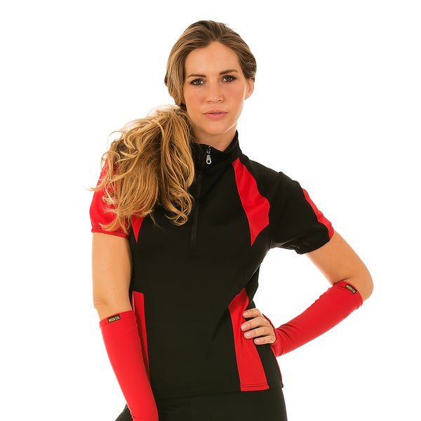 Instantfigure Compression Color Block Cycling Jacket