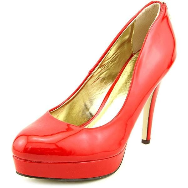 Famous Name Brand Women's 'Fever Red' Patent Dress Shoes