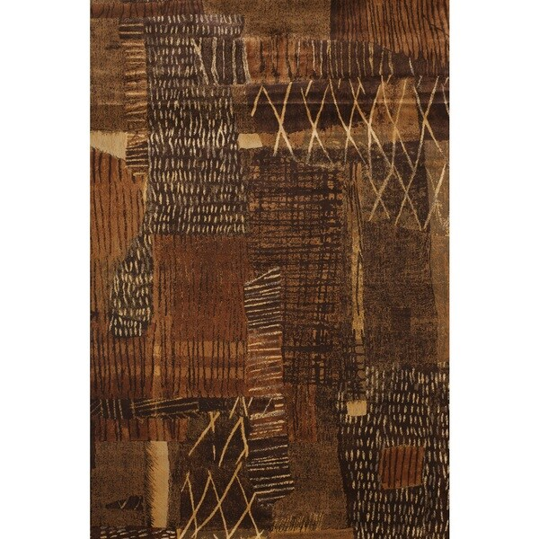 Greyson Living Mohave Rust/ Brown/ Golds Viscose Area Rug (7'10 x 11'2)