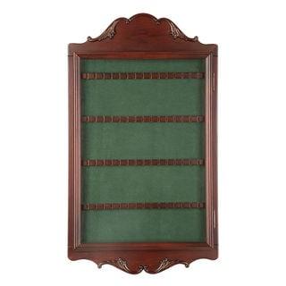 Spoon Collector's Cabinet - Mahogany