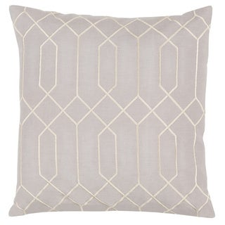 Decorative Main 18-inch Poly or Down Filled Throw Pillow