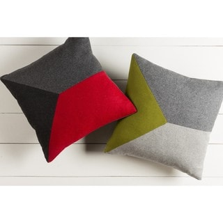 Decorative Oxon 22-inch Poly or Down Filled Throw Pillow