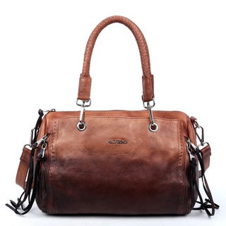 Old Trend Ombre Brown Satchel