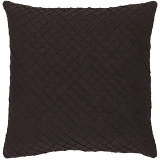 Decorative Reed 20-inch Poly or Down Filled Throw Pillow