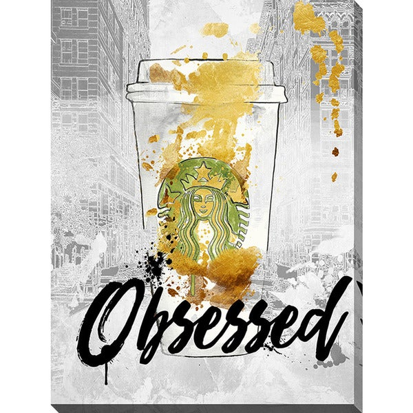 BY Jodi 'Obsessed' Giclee Print Canvas Wall Art