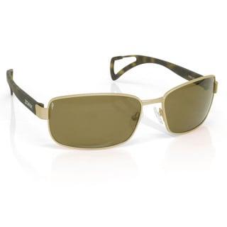 Zoinx Women's Wrap 61MM Polarized Sunglasses with Camo Zipper Pouch Strap
