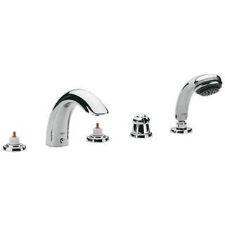 Grohe Talia Tub Faucet 25597000 Starlight Chrome