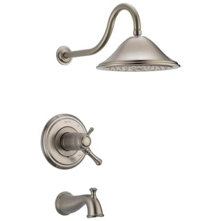 Delta Cassidy Tub and Shower Faucet T17T497-SS Stainless