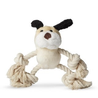 Ethical Pet Dog Plush and Rope Dog Toy