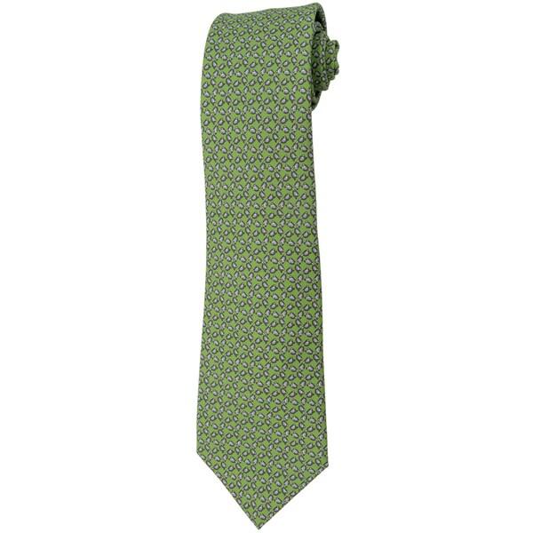 Davidoff 100-percent Silk Green Neck Tie