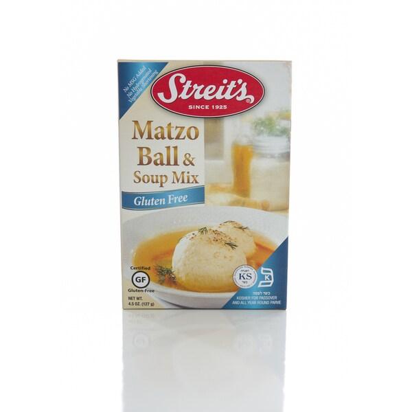 Streit's 4.5-ounce Gluten Free Matzo Ball and Soup Mix 17708420