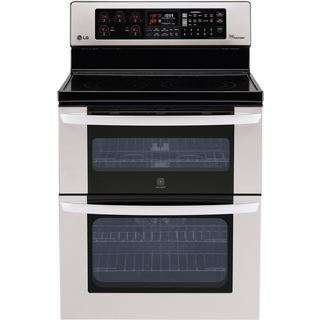 LG 30-inch Freestanding Electric Double-Oven Range