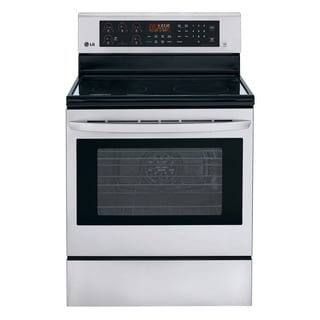 LG 30-inch Freestanding Electric Range Convection Oven