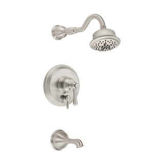 Danze Opulence Tub and Shower Faucet D502257BNT Brushed Nickel