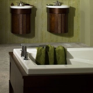 American Standard Green Tea Tub Faucet 7010.901.075 Stainless Steel
