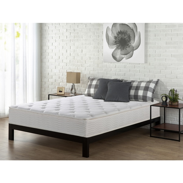 Priage 10-inch Full-size Tight Top Spring Mattress