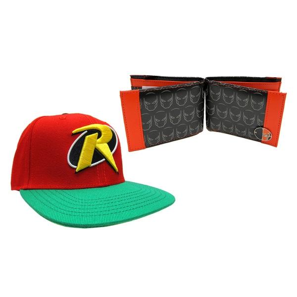 Robin Hat/ DeathStroke Wallet Combo