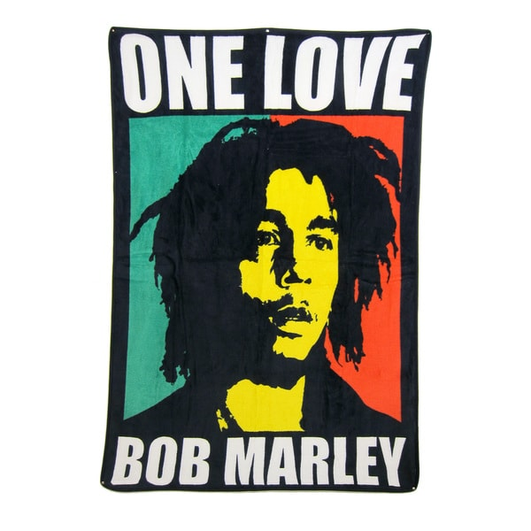Bob Marley 'One Love' Throw