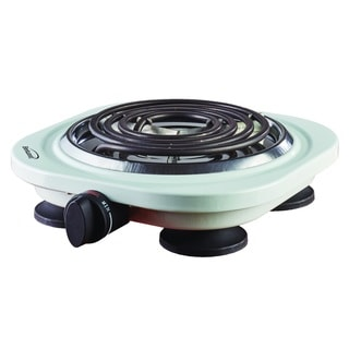 Brentwood TS-321W White 1000-watt Electric Single Burner
