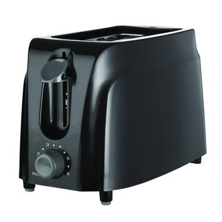 Brentwood TS-260B Black 2-Slice Cool-Touch Toaster