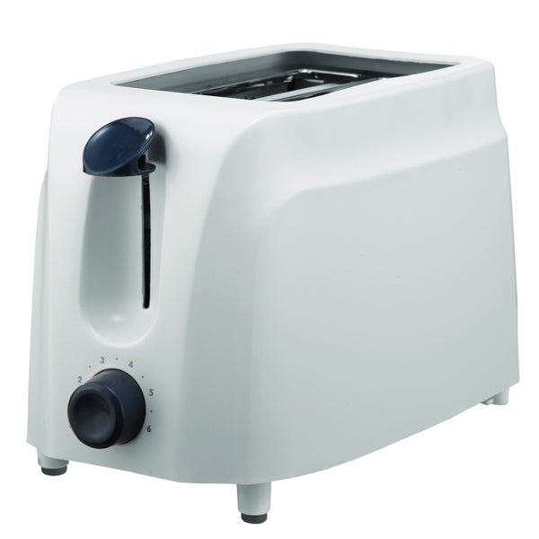 Brentwood TS-260W White 2-Slice Cool-Touch Toaster