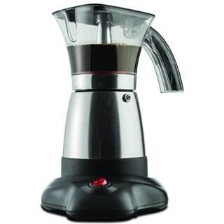 Brentwood TS-118S Silver Moka Espresso Maker