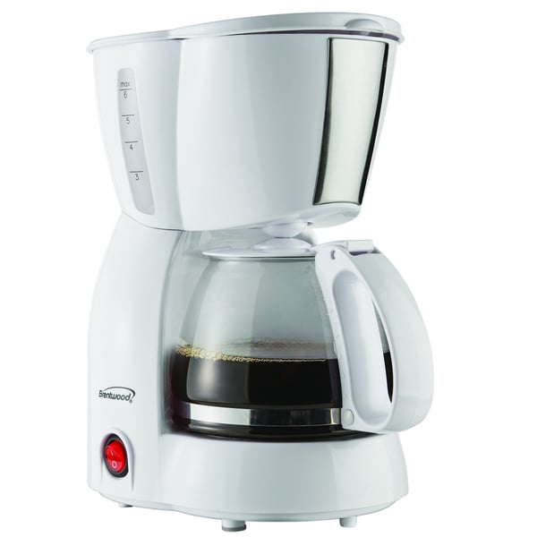 Brentwood ts-213w Coffee Maker, 4 Cup 2120712