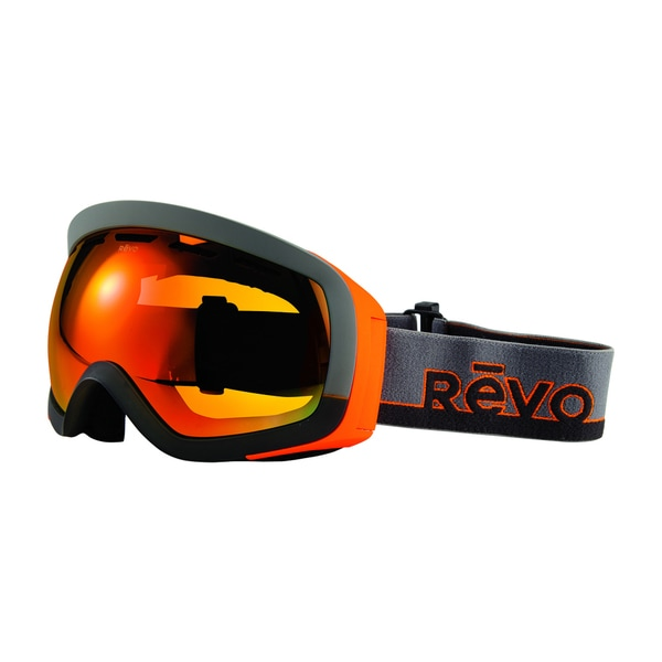 Revo Capsule 00 POG Grey Orange Plastic Sport Snow Goggles