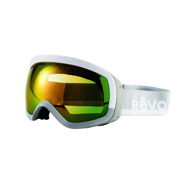 Revo Capsule 09 PGN White Grey Plastic Sport Snow Goggles