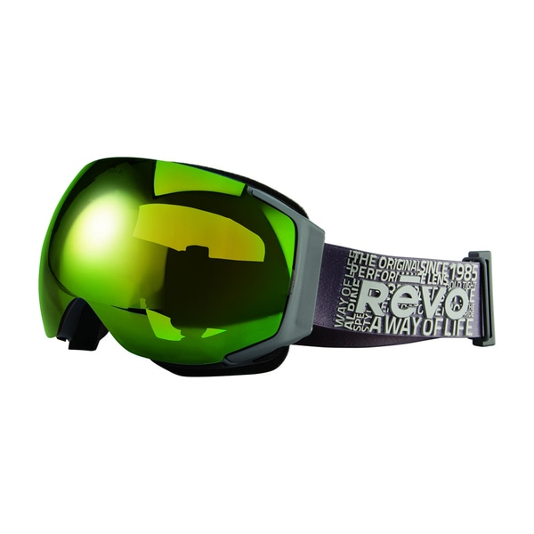 Revo Wordsmith 00 PGN Dark Grey Plastic Sport Snow Goggles