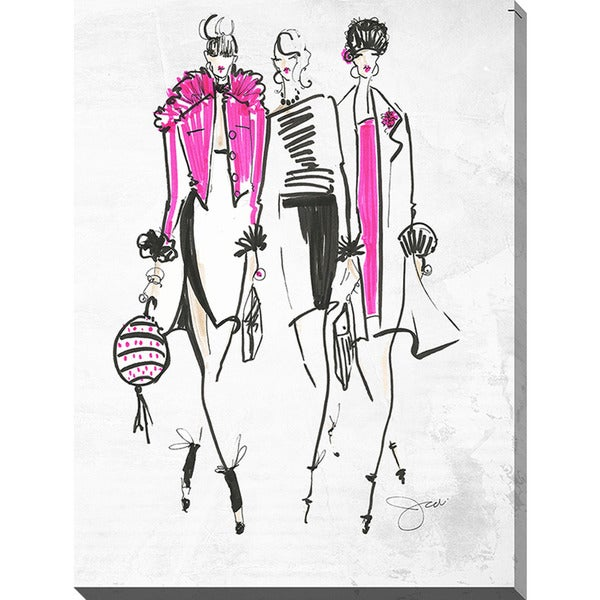 BY Jodi 'Squad Goals' Giclee Print Canvas Wall Art