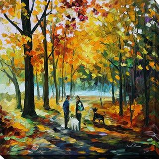 Leonid Afremov 'Couples' Giclee Print Canvas Wall Art