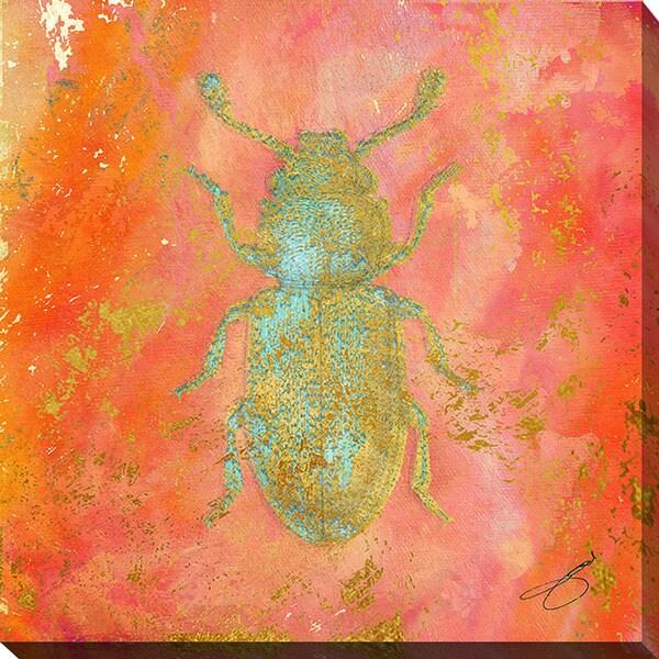 BY Jodi 'Beetle Bug' Giclee Print Canvas Wall Art